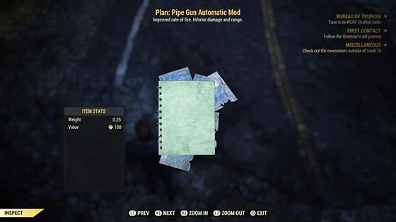 Plan: Pipe Gun Automatic Mod