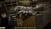 Bloodied Deathclaw Gauntlet - Level 50