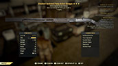Bloodied Hardened Pump Action Shotgun - Level 45