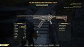 Two Shot Hardened 10mm Submachine Gun - Level 50