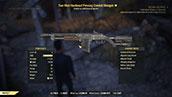 Two Shot Hardened Piercing Combat Shotgun - Level 50
