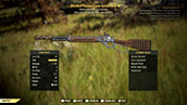 Bloodied Vicious Lever Action Rifle - Level 45