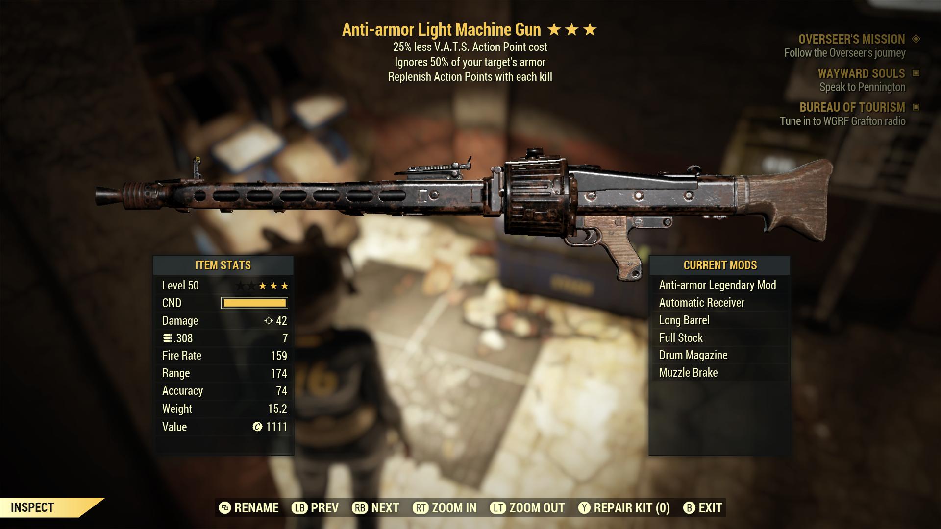 (New86)Anti-armor Light Machine Gun - Level 50