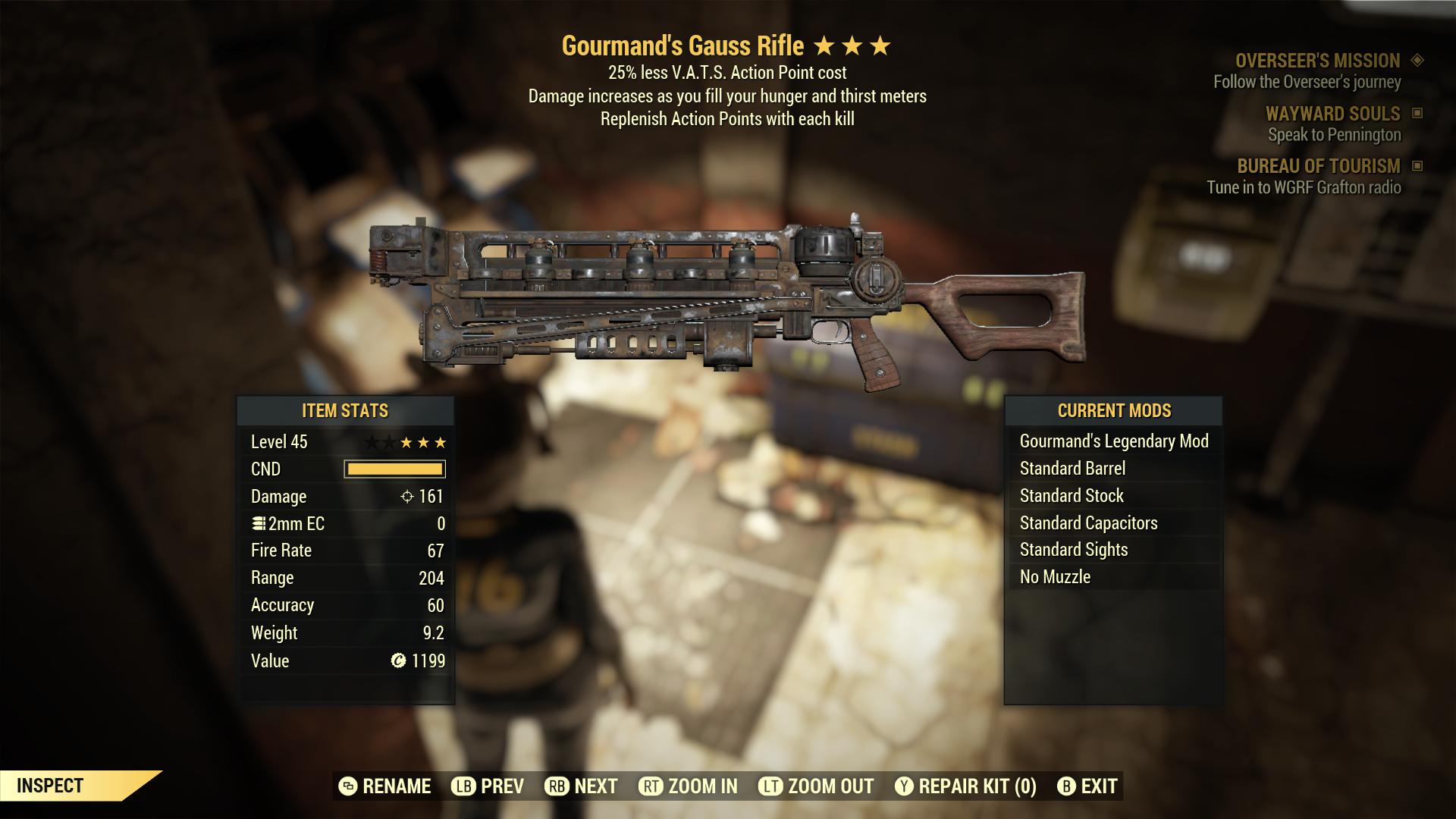 (New86)Gourmand`s Gauss Rifle - Level 45
