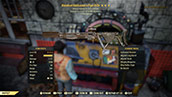 (New629)Bloodied Marksman`s Pipe Rifle - Level 50