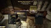 (New723)Ghoul Slayer`s Black Powder Rifle - Level 45