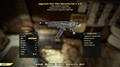 (New723)Juggernaut`s Short 10mm Submachine Gun - Level 50