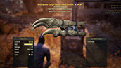 Anti-armor Large Deathclaw Gauntlet - Level 50
