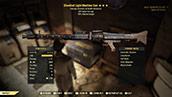 Bloodied Light Machine Gun - Level 50(90% reduced weight)