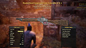 Bloodied Recoil Compensated Lever Action Rifle - Level 45