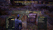 Two Shot Marksman`s 10mm Submachine Gun - Level 30