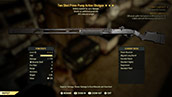 Two Shot Prime Pump Action Shotgun - Level 45