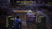 Vampire`s Short Lever Action Rifle - Level 45