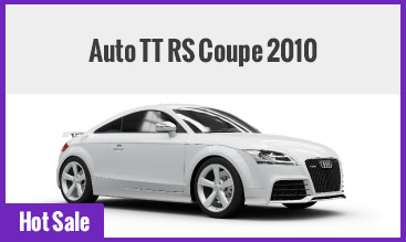 Auto TT RS Coupe 2010