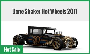 Bone Shaker Hot Wheels 2011
