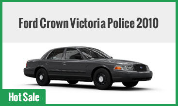 Ford Crown Victoria Police 2010