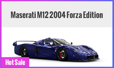 Maserati M12 2004 Forza Edition