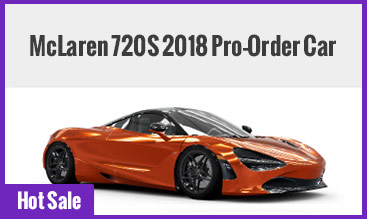 McLaren 720S 2018 Pro-Order Car