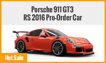 Porsche 911 GT3 RS 2016 Pro-Order Car