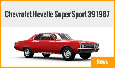 Chevrolet Hevelle Super Sport 39 1967