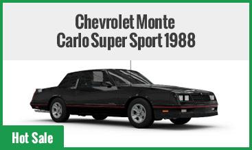 Chevrolet Monte Carlo Super Sport 1988