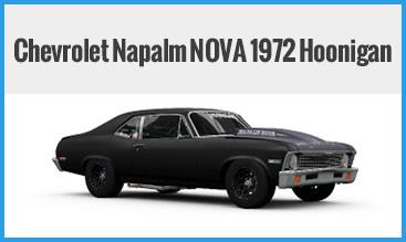 Chevrolet Napalm NOVA 1972 Hoonigan