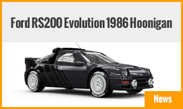 Ford RS200 Evolution 1986 Hoonigan