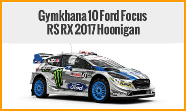 Gymkhana 10 Ford Focus RS RX 2017 Hoonigan