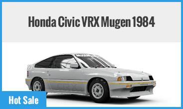Honda Civic VRX Mugen 1984