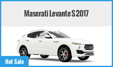 Maserati Levante S 2017