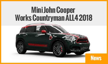Mini John Cooper Works Countryman ALL4 2018