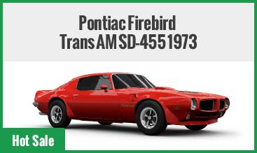 Pontiac Firebird Trans AM SD-455 1973