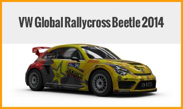 VW Global Rallycross Beetle 2014