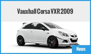 Vauxhall Corsa VXR 2009