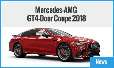 Mercedes-AMG GT4-Door Coupe 2018