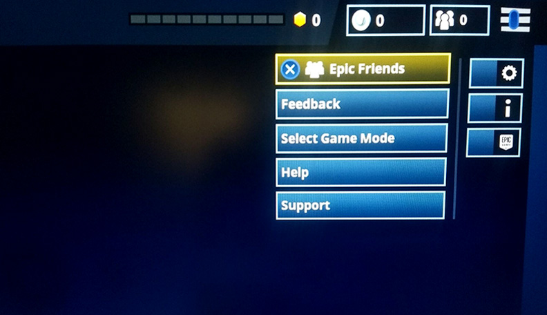 2 then you will come to this page and press the x key - how to add someone on fortnite on ps4