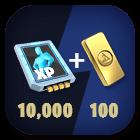 Hero Exp x 10,000