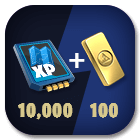 Schematic Exp x 10,000