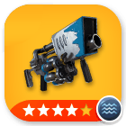 Snowball Launcher - 4 stars[Water]