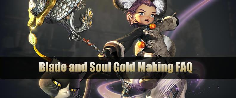 Blade and Soul Gold Making FAQ - u4gm com