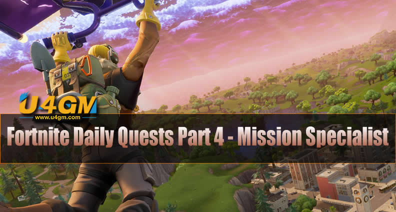 Fortnite Daily Quests Part 4