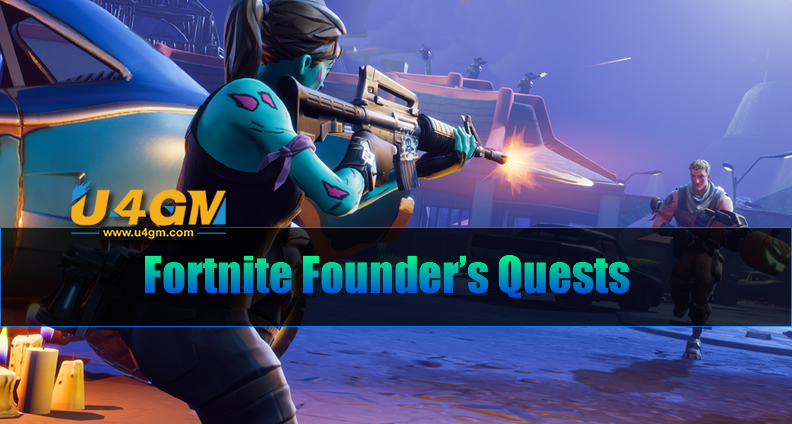 Fortnite Founder's Quests