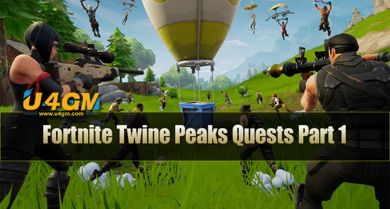 Fortnite Twine Peaks Quests Part 1