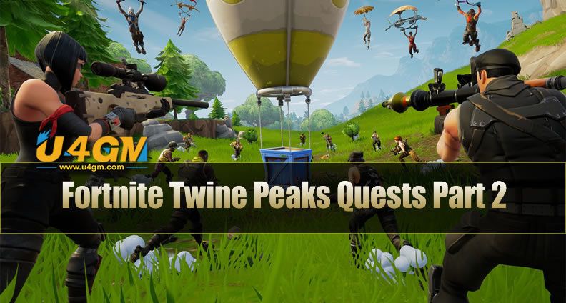Fortnite Twine Peaks Quests Part 2