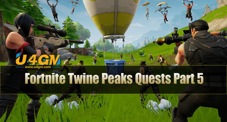 Fortnite Twine Peaks Quests Part 5