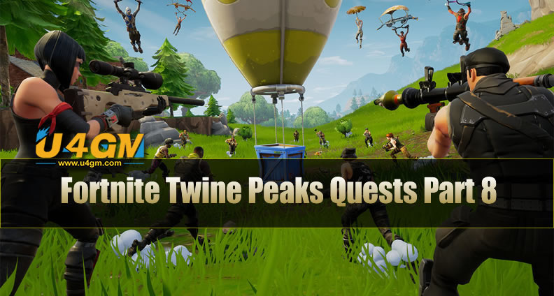 Fortnight Twine Peaks Quests Part 8