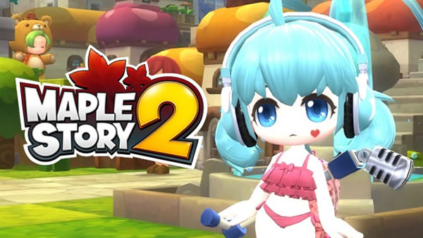 Now Register For MapleStory 2 Closed Beta 2
