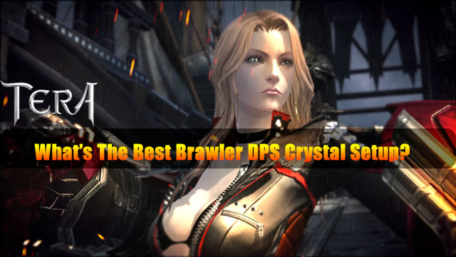 TERA - What's The Best Brawler DPS Crystal Setup?