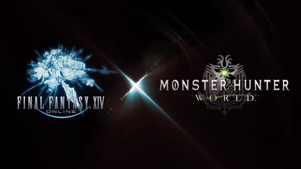 Final Fantasy XIV's Behemoth Invading Monster Hunter World