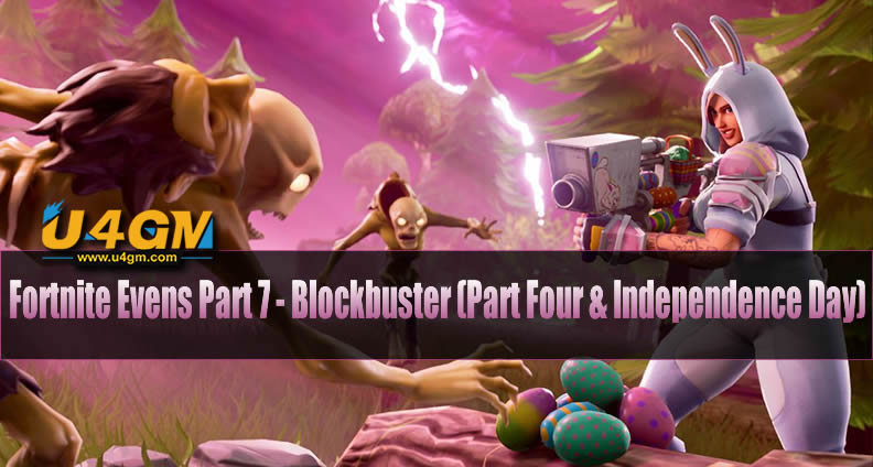 Fortnite Event Quests Part 7 - Blockbuster (Part Four & Independence Day)